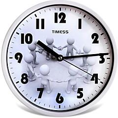 "Timess ™ 9 ""H Art Glückliche Mute Wanduhr"