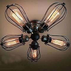 MAX 60W Op plafond bevestigd ,  Vintage Schilderen Kenmerk for Ministijl / Lamp Inbegrepen MetaalWoonkamer / Slaapkamer / Eetkamer /