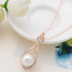 Boli Frauen Korean Perle Diamonade Halskette 363