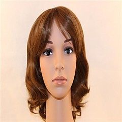 Gentlemen and Ms Jas Shi R High Temperature Silk Wig Pear Flower Heads Golden Brown