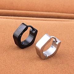 Férfi Beszúrós fülbevalók jelmez ékszerek Titanium Acél Geometric Shape Ékszerek Kompatibilitás Esküvő Parti Napi Hétköznapi Sport