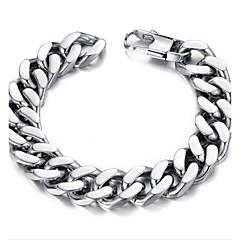 Pánské Řetězové & Ploché Náramky Jedinečný design Módní minimalistický styl bižuterie Nerez Šperky Šperky Pro Denní Vánoční dárky