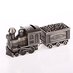 合金アシュ金属列車貯金箱ベアラパーソナライズリング