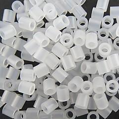 ca. 500 Stück 5mm klare transparente perler Perlen Bügelperlen Hama Perlen DIY Puzzle EVA-Material safty für Kinder