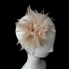 Dame Lær Headpiece-Bryllup / Spesiell Leilighet fascinators