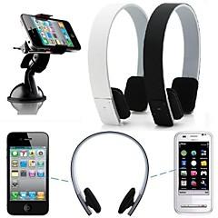 iphone 6 / 6plus / 5/5秒/ 4 / 4SサムスンのHTC、LG、ソニーシャオマイルステレオワイヤレスBluetoothヘッドフォンイヤホンヘッドセット