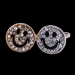 Women's Alloy Ring Rhinestone Alloy
