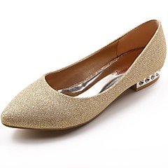 Women's Wedding Shoes Mary Jane/Pointed Toe Heels Wedding Red/Gold