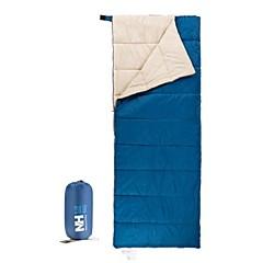 Спальный мешок Прямоугольный Односпальный комплект (Ш 150 x Д 200 см) +5°C~+15°C Пористый хлопок 190cm X 75cmПоходы / Пляж  / Путешествия