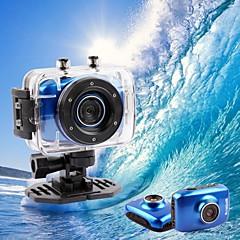 Caméra HD de Sport pour Casque (1280 x 780, Bleue)