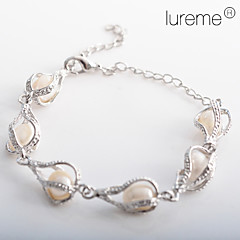 Women's Water Drop Shaped Pearl Bracelet Christmas Gifts