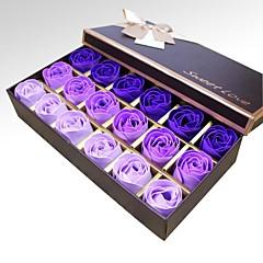 Saint-Valentin Faveurs et cadeaux de fête-18Pièce/Set Cadeaux Rose / Rouge / Bleu / Violet