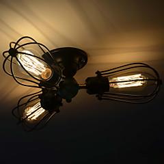 MAX 40W Op plafond bevestigd ,  Traditioneel / Klassiek / Vintage Schilderen Kenmerk for Ministijl MetaalWoonkamer / Slaapkamer /