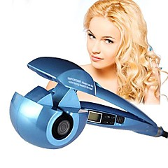 Pro Automatic Curls Ceramic Hair Curler Iron with LCD Screen and EU Plug