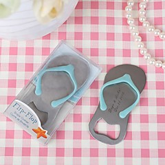 "Stainless Steel Bottle Favor-1Piece/Set Bottle Openers Beach Theme Personalized Blue 4 1/2""""×1 3/4"" (11.4*4.5cm)"