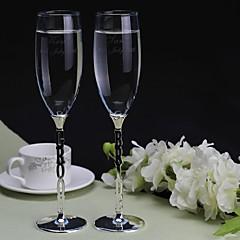 индивидуальный тостов флейт жених и невеста (набор из 2)