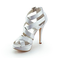 Women's Shoes Peep Toe Stiletto Heel Sandals with Buckle Wedding Shoes More Colors available