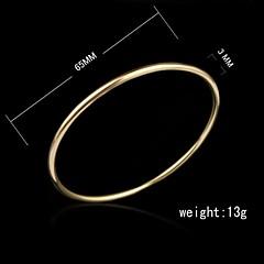 Manschett - Armband (18K Guldpläterad) - till Damers