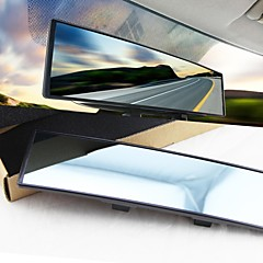 lebosh®car bakspejl stort synsfelt anti glare buede spejl