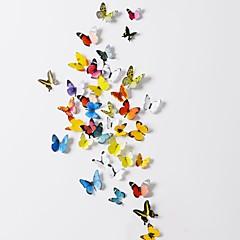 Dyr / 3D Wall Stickers 3D mur klistermærker Dekorative Mur Klistermærker,PVC Materiale Kan genpositioneres Hjem Dekoration