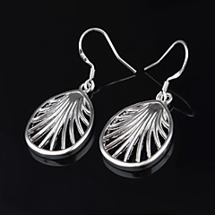 Women's Titanium Bow Drop Earrings