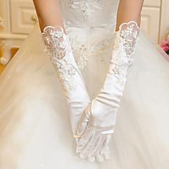 Satin/Lace Opera Length Wedding/Party Glove