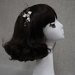 Vrouwen Bergkristal Licht Metaal Helm-Bruiloft Speciale gelegenheden Bloemen Baret