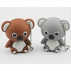 Cute koala Model USB 2.0 Enough Memory Stick Flash pen Drive 16GB