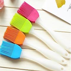 creatieve huis keuken siliconen zachte borstel om de borstel (willekeurige kleur) reinigen