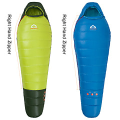 Sleeping Bag Mummy Bag Single -8°C~-3°C Duck Down 400g 203cmX80cm Hiking / Camping / Beach / Fishing / Traveling / Outdoor / Indoor