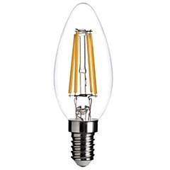 5W E12 LED gyertyaizzók C35 COB 400 lm Meleg fehér Állítható / Dekoratív AC 110-130 V