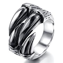 Anéis Homens Aço Inoxidável Aço Inoxidável 8 / 9 / 9½ / 10 / 11 / 12 / 13 Como na Imagem