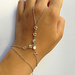 Bransoletki Bransoletka z pierścionkiem Others Unikalny Modny Impreza Biżuteria Prezent1szt