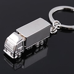 Zinc Legering Nyckelrings Favors-1 Piece / Set Nyckelband Ej personlig Silver