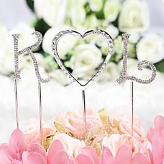Tortenfiguren & Dekoration Nicht-personalisierte Monogramm ChromBabyparty / Quinceañera & Der 16te Geburtstag / Geburtstag / Hochzeit /