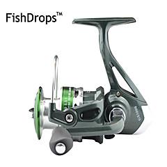 Fiskehjul Spinne-hjul 5.5:1 7 Kuglelejer ombytteligHavfiskeri Madding Kastning Isfikeri Spinning Vippefiskeri Ferskvandsfiskere Anden
