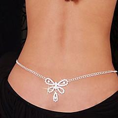 Dames Lichaamssieraden Buikketting Body Chain / Belly Chain Uniek ontwerp Modieus Sexy Kostuum juwelen Strass Gesimuleerde diamant