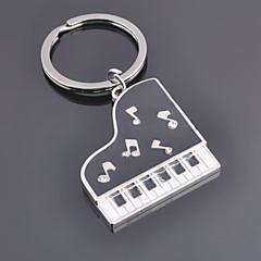 Rostfritt Stål Nyckelringsfavörer-1 del/set Nyckelband Personlig Silver