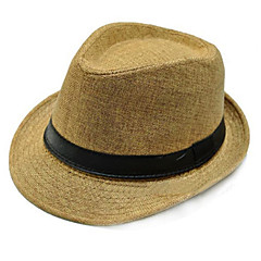 Women/Men Flax Hats With Occasion/Casual/Outdoor Headpiece (More Colors)
