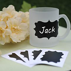 PVC Blackboard Stickers ---- Shine (set of 6)