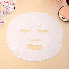 10 개 스킨 케어 DIY 얼굴 얼굴 압축 압축 정제 종이 마스크 가면극