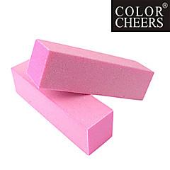 2PCS Buffer schuurblok Bestand Nail Art (willekeurige kleur)
