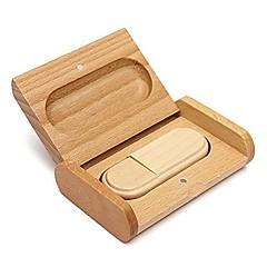 아름다운 나무 모델 USB 2.0 메모리 플래시 드라이브 펜 driveu 디스크 엄지 드라이브 4기가바이트
