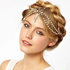 Bruiloft/Dagelijks/Causaal - Haarbanden (Legering , Gouden/Beige)