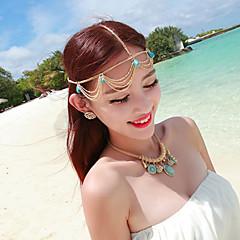 Bruiloft/Dagelijks/Causaal - Haarbanden ( Legering , Gouden/Marineblauw )