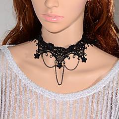 Vintage Flower Chain Necklace