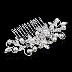 Palace Hairpins Comb for Women Rhinestone Crystals Wedding Hair Accessories Party Wedding Bridal Jewelry