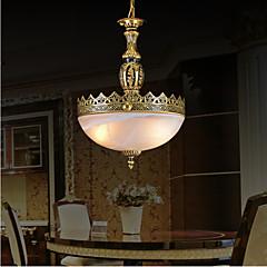 bronz medál két lámpa moaré üveg európai klasszikus 220v