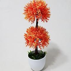 Soleirolia künstliche Blumen mit weißen Vase