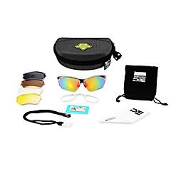 Ciclismo/Acampar e Caminhar/Fitness, Corrida e Yoga/Passeios de barco/Motocicleta Unissex 'sAnti-Fog/Scratch Resistant/Polarized/100%